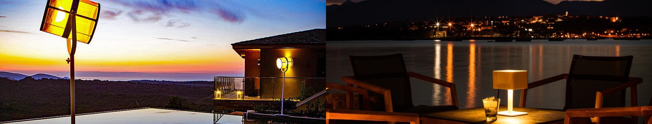 Outdoor Lighting Settings