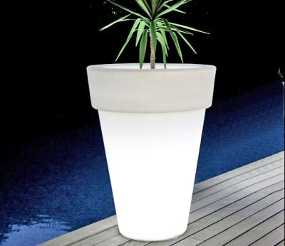 Classic Planters with light