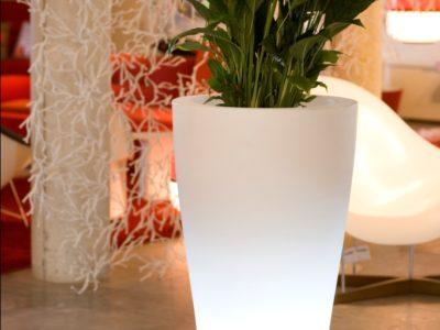 LED Cone Planter