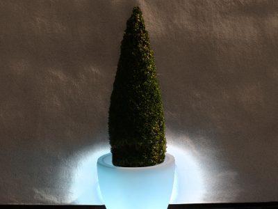 LED Drum Planter