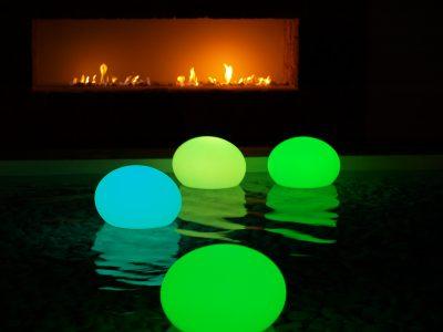 LED Flat ball