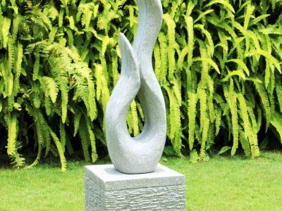 Serpent sculpture