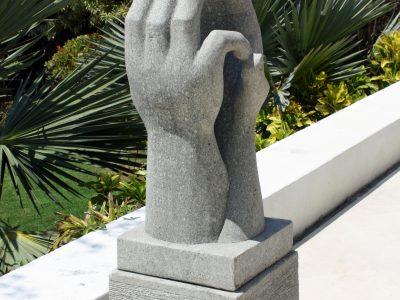 Two Hands Sculpture