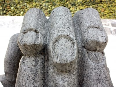 Two Hands Sculpture