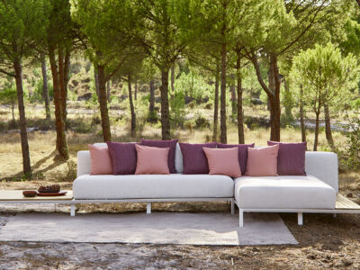 Mauroo sofa collection white