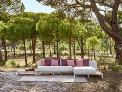 Mauroo sofa collection white