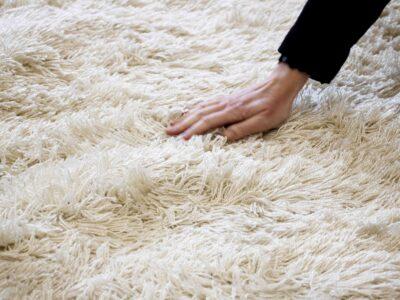 Outdoor shagpile rugs