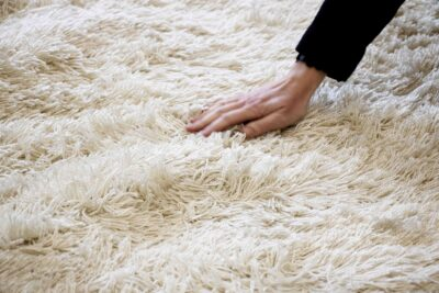 Outdoor shagpile rugs
