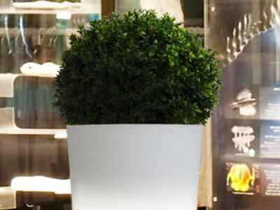 skyline design led planter