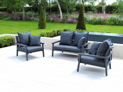Classique Love Seat Set Carbon