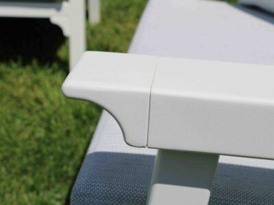Classique 3 Seat Sofa set White