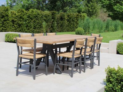 Stipa dining sets Carbon